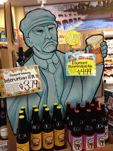 TJ's New Pitchman for Fremont Brewing by Seattle Daily Photo