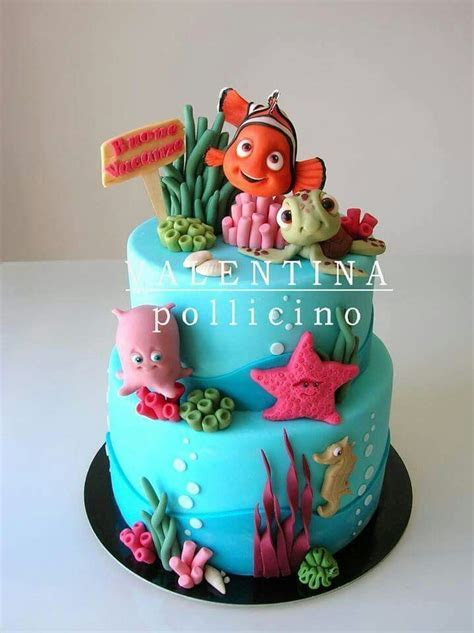 25  best ideas about Nemo cake on Pinterest   Finding nemo