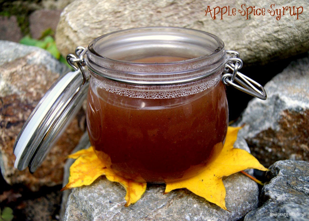 8-10, Apple Spice Syrup..Breakfast just got better :)