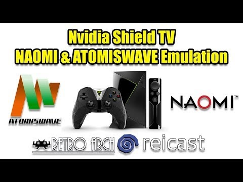 How To Raspberry Pi 3: NAOMI & ATOMISWAVE On The Nvidia