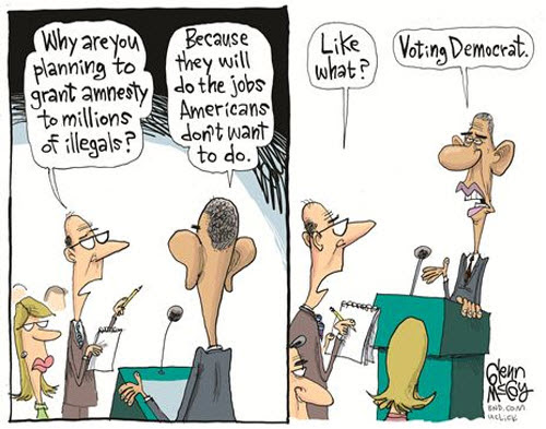 Image result for illegal voter cartoons
