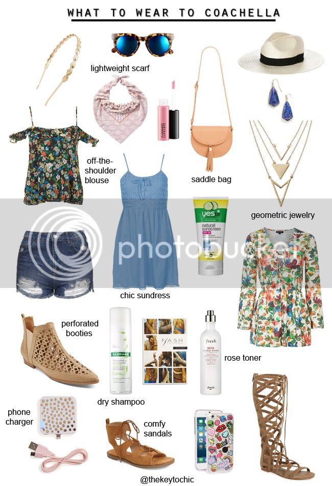 What to wear to Coachella 2016, music festival fashion essentials