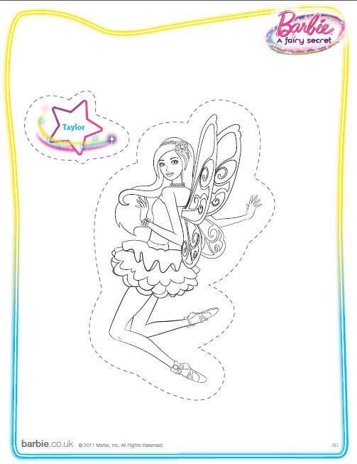 Barbie: A Fairy Secret (coloring/printable) - Barbie ...