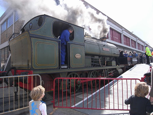 Henbury in steam