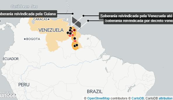 Venezuela envia militares a região disputada e causa protesto da Guiana: http://t.co/3P0suXCbvW