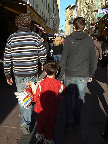 les trois garçons