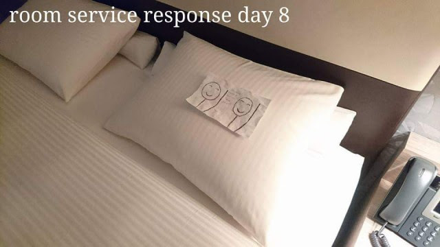 Ответ  Отель, горничная, креатив, юмор