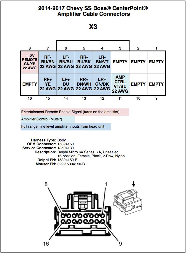 31 Bose Amp Wiring Diagram - Wiring Diagram Database