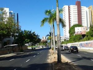Avenida Epitácio Pessoa foi corredor usado no crescimento rumo à praia. (Foto: Mauricio Melo/G1-PB)