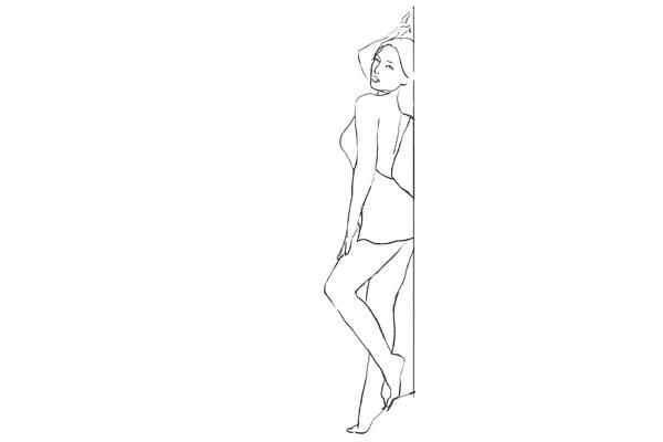 Позирование: позы для гламурного портрета 17