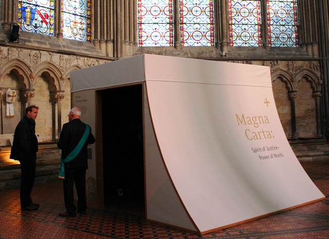 Magna Carta Chapter House Salisbury Cathedral - photo Zoe Dawesthequirkytraveller.com