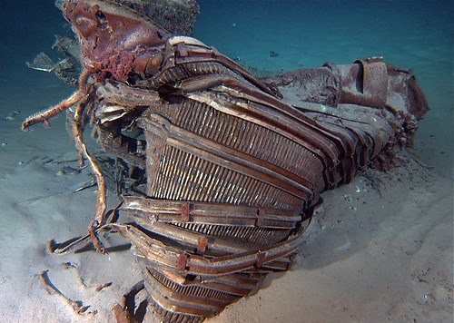Apollo 11 Engines Recovered by Bezos Expeditions by jurvetson