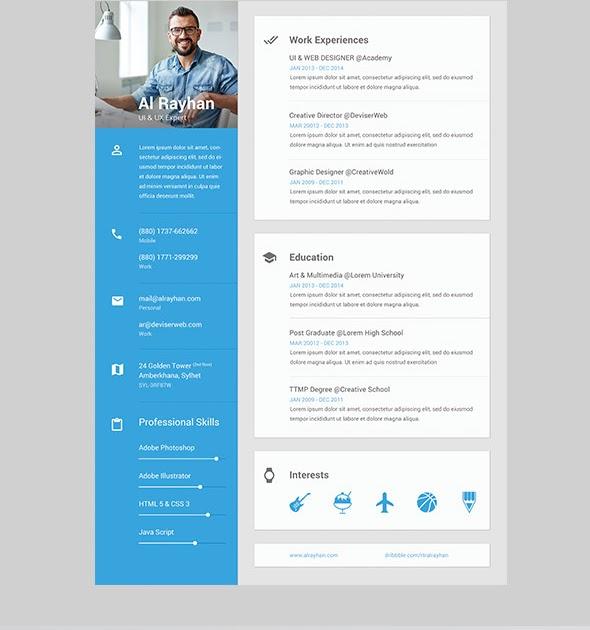 21 elegant online career portfolio templates