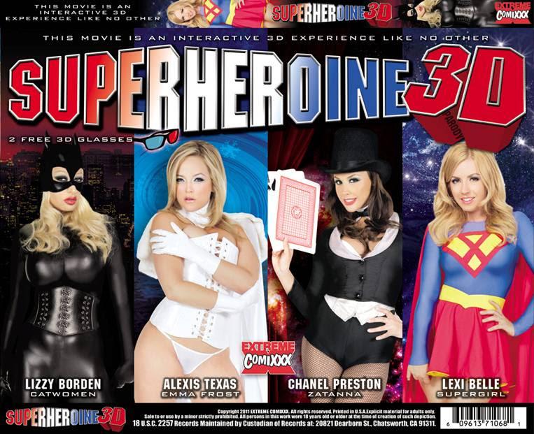 TOP 10 paródias pornô de filmes de super heróis!
