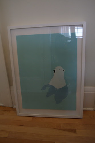 Custom Frame for Polar Bear Print