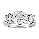 Three Stone Round Brilliant Engagement Ring ? Stephanie