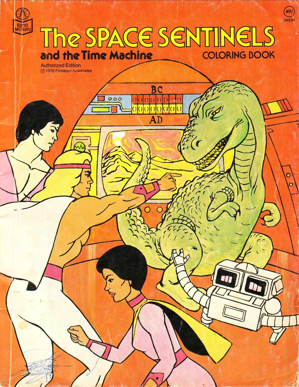 wonderbug Colouring Book