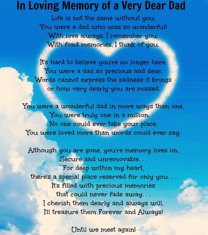 Quotes About In Memory Of Dad 27 Quotes