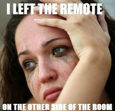 left the remote far away 25 Pictures of The Most Comfortably Uncomfortable First World Problems
