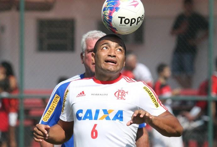 Anderson Pico no treino do Flamengo (Foto: Gilvan de Souza / Flamengo)
