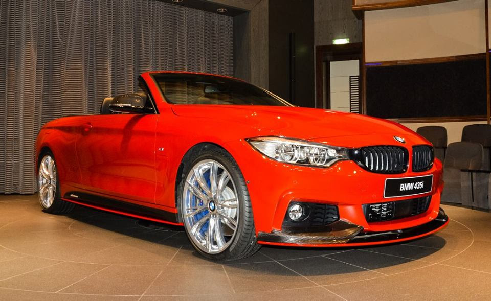 Eye Candy: Melbourne Red BMW 4 Series Convertible