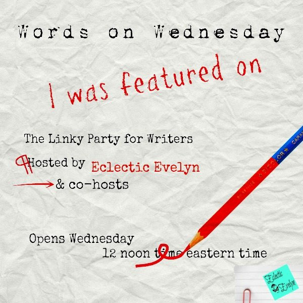 Featured on Words on Wednesday Linky