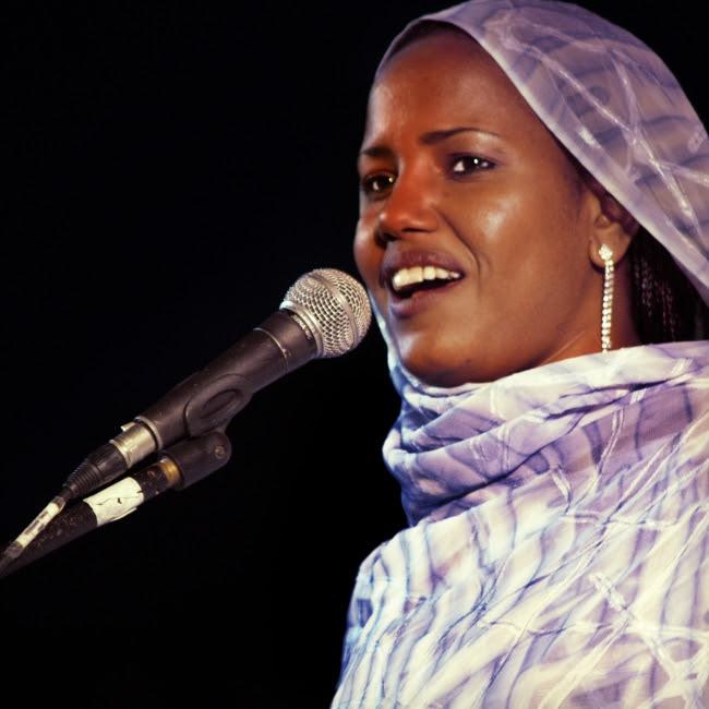 Aziza Brahim actuarà a l'Audtori de l'Ateneu el dissabte 9 de març.