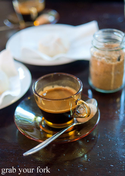 espresso at pasta emilia surry hills