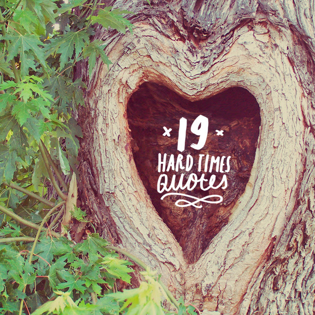 19 Inspirational Life Quotes for When Times Are Hard ...