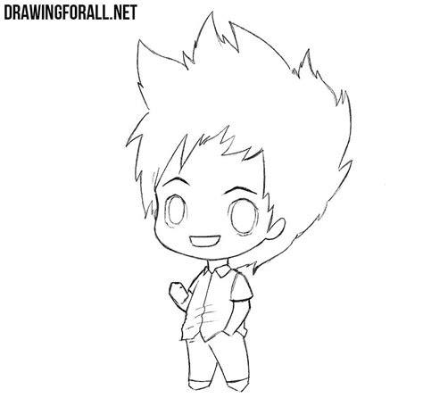 draw  chibi boy drawingforallnet
