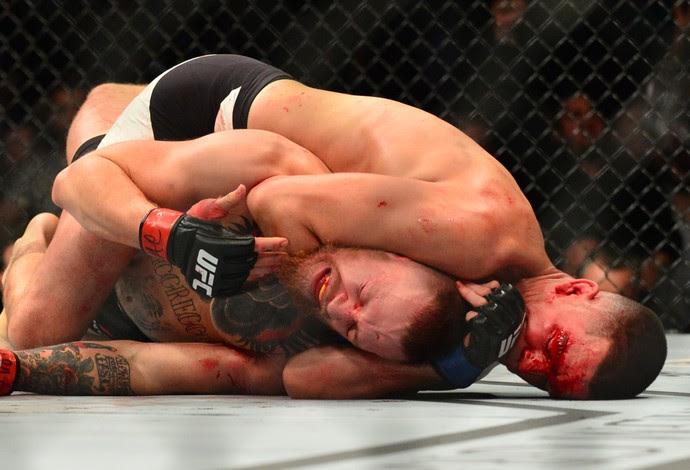 Nate Diaz Conor McGregor UFC 196 (Foto: Jason Silva)