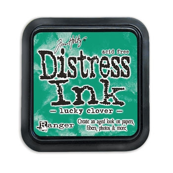 Tim Holtz Distress Ink Pad LUCKY CLOVER Ranger TIM43249