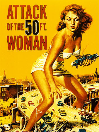 Attack of the 50 Ft. Woman Poster