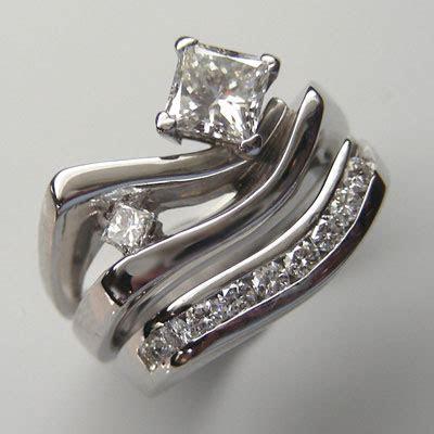 Two Golden Rings: Unique Wedding Ring Sets   Unique