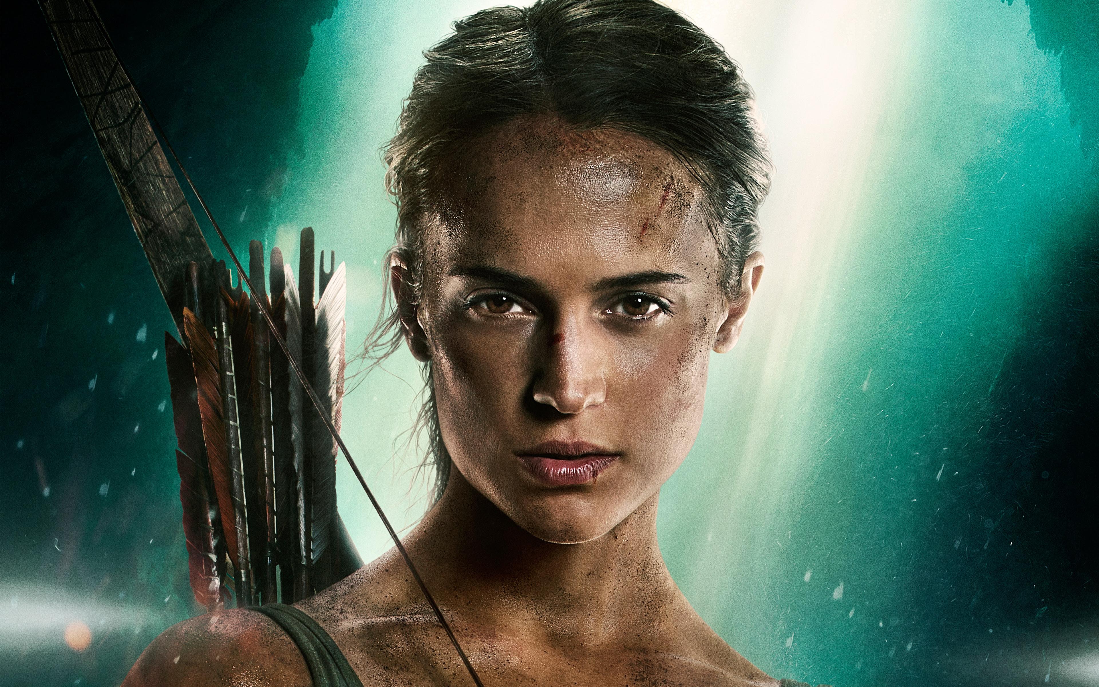 Lara Croft Tomb Raider Alicia Vikander 5k Wallpapers Hd Wallpapers