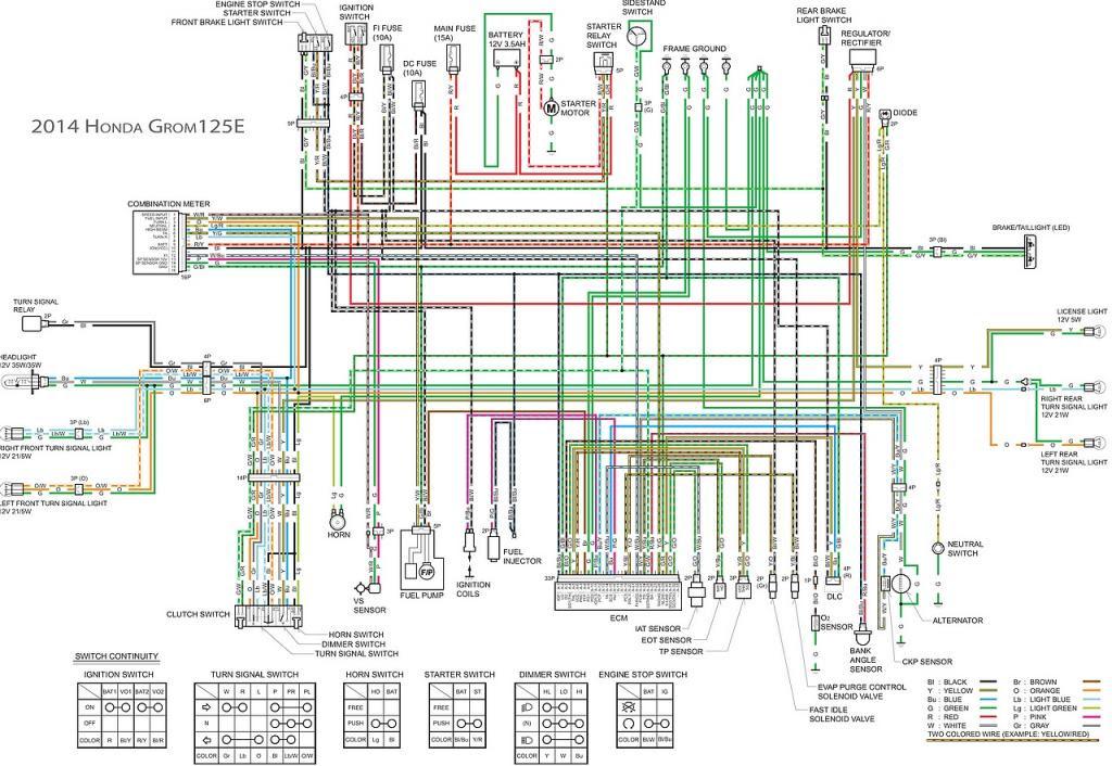 63 Schema Electrique Honda Sh 125