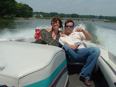 Caron Myers and Jeff Varner