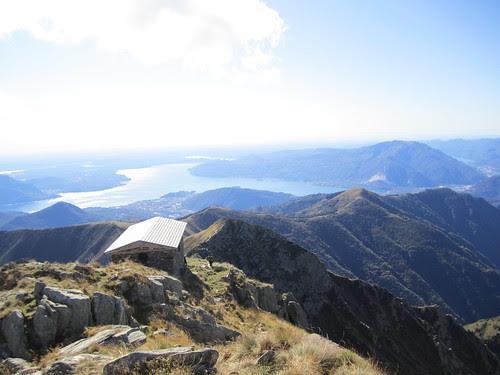 Il Lago Maggiore dal Pizzo Marona