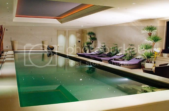 Indoor Luxury Swimming Pools Home Interior Design