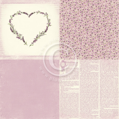 Pion Design - Scent of Lavender - 6 x 6 Lavender Love (PD7301F)