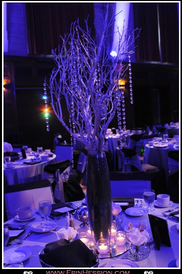 Manzanita and flower centerpieces wedding manzanita diy centerpieces black