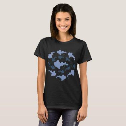 Angel Shark Marine Biology Art T-Shirt