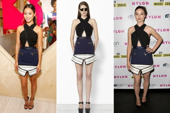 Who Wore It Better: Jamie Chung or Crystal Reed
