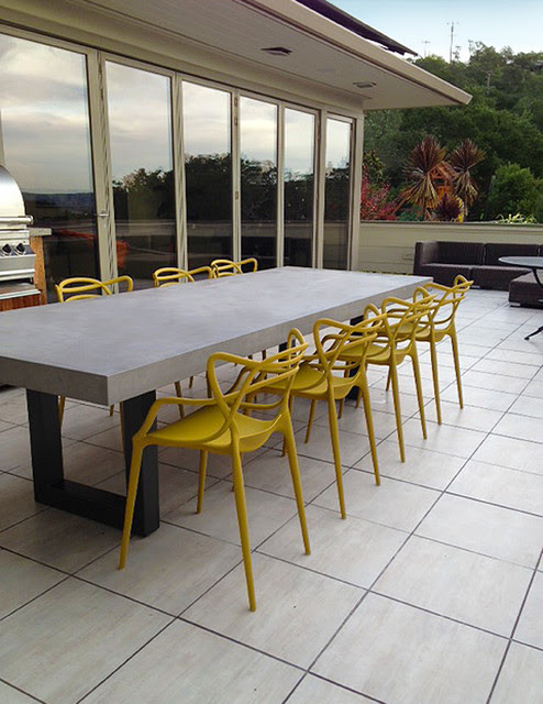 Contemporary Concrete Tables from Trueform Concrete - contemporary