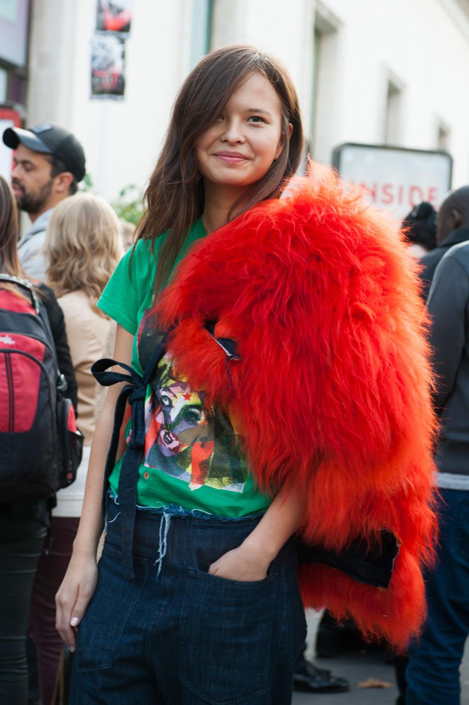 Стритстайл на Неделе моды в Париже