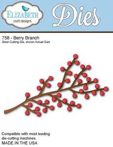 Elizabeth Crafts Berry Branch Die
