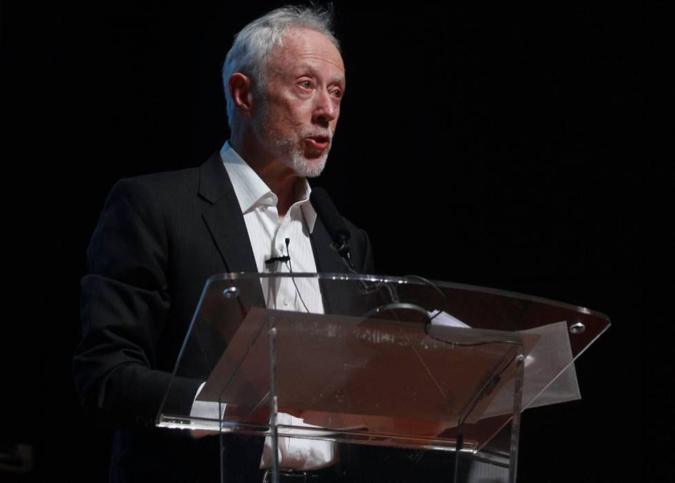 El escritor sudafricano J. M. Coetzee, en el Museo Reina Sofia en junio de 2016.