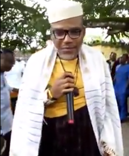 ''The man you are looking at on Television is not Buhari,he is a Sudanese national who had undergone surgery in order to look like Buhari''- Nnamdi Kanu,IPOB leader