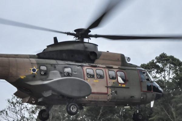 Aeronave que transporta o Papa é usada em missões de busca e resgate na FAB  Sgt Lamego/BAAF