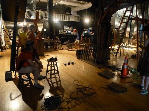 Fitch Bros, Artspace Shreveport / installation La Plus Belle Poubelle by trudeau
